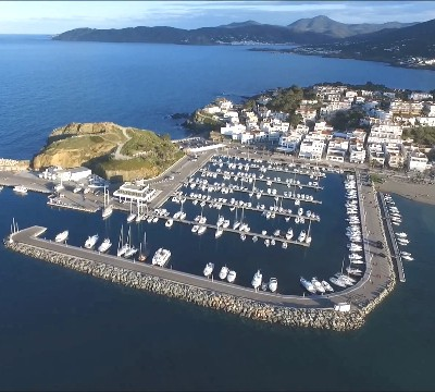 FOOTER Port de Llançà from the air 400x360