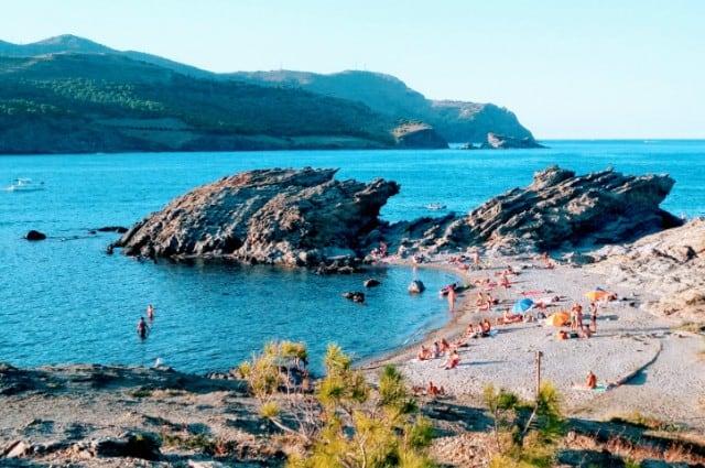 Beach image from Llançà 640x425