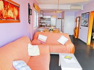 Vacation rental apartment Cau del Llop 1 Llanca Costa Brava living room