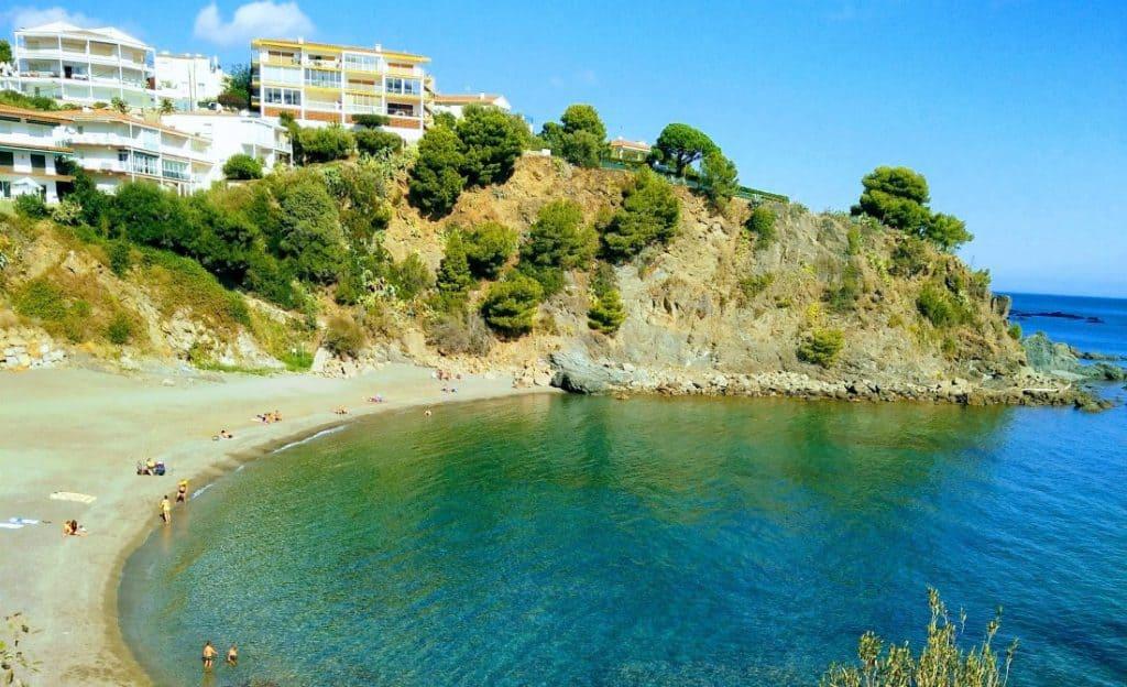 TOP10 Llançà Beaches Platja del Cau del Lllop October 2017