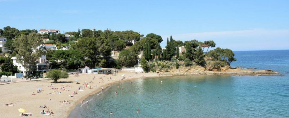 Idyllic Costa Brava Beach in Llanca 1100x450